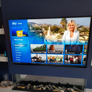 Sky tv installation and tv wall mounting in Laytown, County Meath