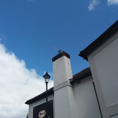 Saorview aerial installation Hollywood Inn Co Wicklow