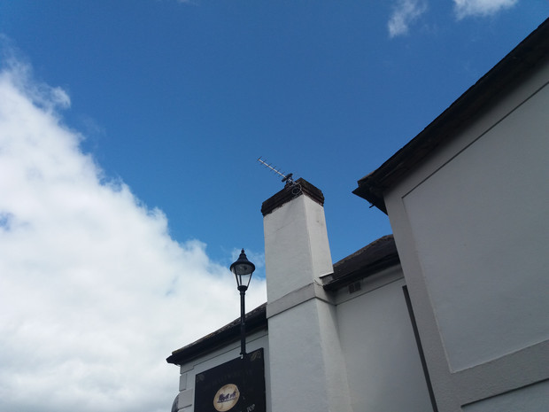 Saorview aerial installation Hollywood Inn Co Wicklow