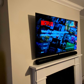 Oled tv installation in Donabate, North County Dublin