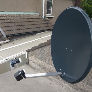 Solid satellite dish installation Artane Dublin 5
