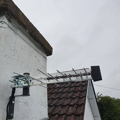 SAORVIEW AERIAL INSTALLATION IN CLONALVY CO MEATH