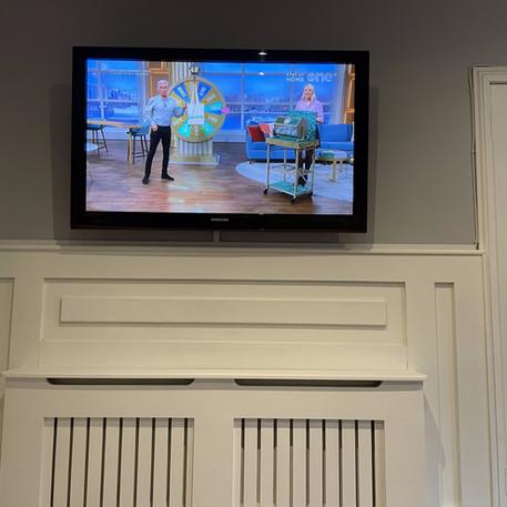 Tv installation and Virgin Media box management