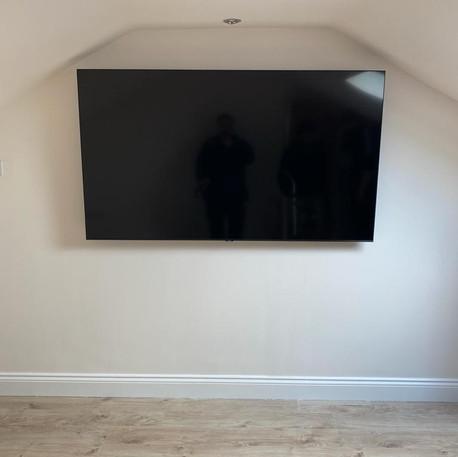 """75"""" Tv installation in Kilcock, Co Kildare"""