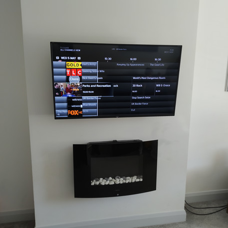 Tv installation in Maynooth, Co Kildare