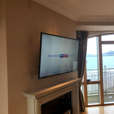 Tv wall mounting in Howth North Co Dublin