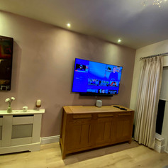 Tv installation and cable management in Fox Lodge, Ratoath