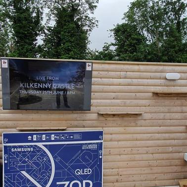 Tv installed in the back garden Hickeys Lane Ashbourne Co Meath