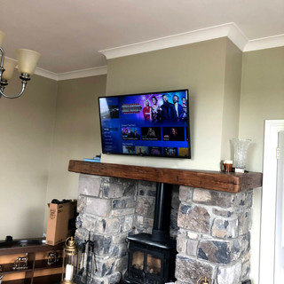 Tv installation in The Naul, North County Dublin