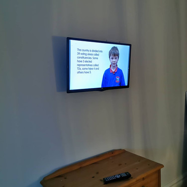 Tv mounted on the wall Termonfeckin Co Louth