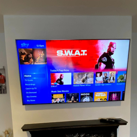 Tv installation and Sky box management