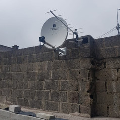 Satellite dish and Saorview aerial installation in Bweeng Co Cork