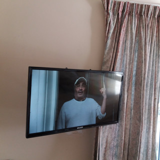 "We have installed an extendable tv wall brackets in Ardlea house b&b in Artane Dublin 5.We have also supplied and installed Free to air/Saorview tv system with 32"" Walker satellite/smart/Saorview televisions as a replacement of an old analogue Virgin Media tv stystem — in Dublin, Ireland."