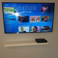 WE HAVE HIDDEN BOTH CABLES AND SKY BOX BEHIND TV  FOR A CLIENT FROM RATOATH CO MEATH