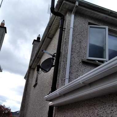 Satellite dish and Saorview aerial installation in Race Hill Park Ashbourne Co Meath