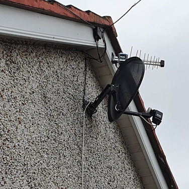Saorview and satellite dish service Lusk North Co Dublin