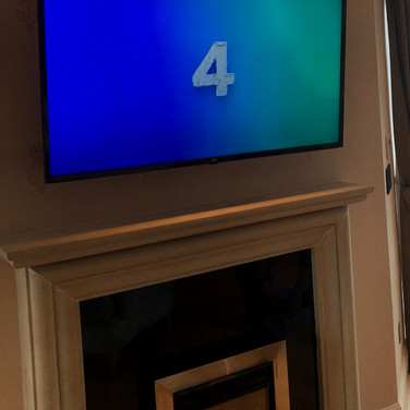 Tv wall mounting and Sky tv installation in Howth