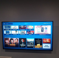 Tv wall mounting with a Sky box hidden from the view Skerries North County Dublin