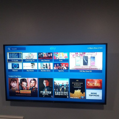 TV WALL MOUNTING AND SKY TV INSTALLATION IN SKERRIES NORTH CO DUBLIN