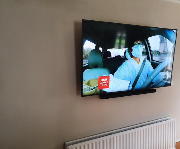 Tv wall mounting in Ashbourne