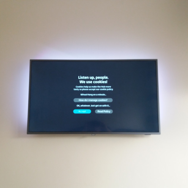 TV WALL BRACKET INSTALLATION IN GLASNEVIN DUBLIN 9