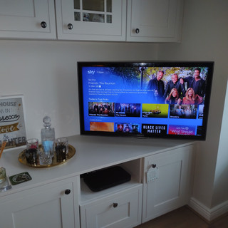 Tv installation in the kitchen, Ashbourne, County Meath