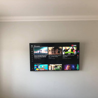 TV WALL MOUNTING AND CABLE MANAGEMENT IN CNOC TIARNACH IN DUNSHAUGHLIN CO MEA