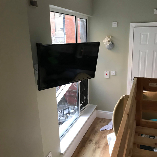 """We have supplied and installed Free to air/Saorview system for a commercial client in apartments in Frederick Street North Dublin 1 — in Dublin, Ireland.We have supplied and installed on the wall brackets 32"""" and 43"""" Walker satellite/smart/Saorview televisions with an access to 160 + Irish and foreign channels as well as You tube, Netflix and Amazon Prime — at Frederick Street North Dublin Ireland."""