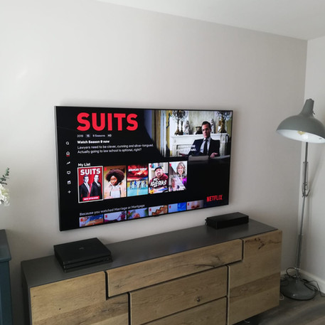 Tv installation and cable management in Taylors Hill, Balbriggan, North County Dublin
