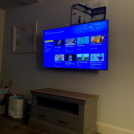 Tv installation and Sky box management in Dundrum, Dublin 14