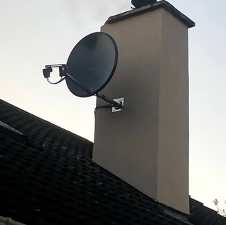 SOLID NON-RUST SKY FREE TO AIR FOREIGN SATELLITE DISH FULL INSTALLATION FROM € 150 VAT INC