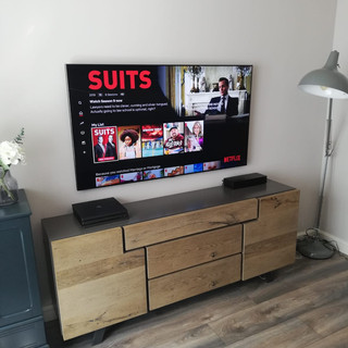 Tv wall mounting and cable management in Taylors Hill Balbriggan, North County Dublin