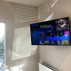 Tv installation and cable management in Swords, North County Dublin