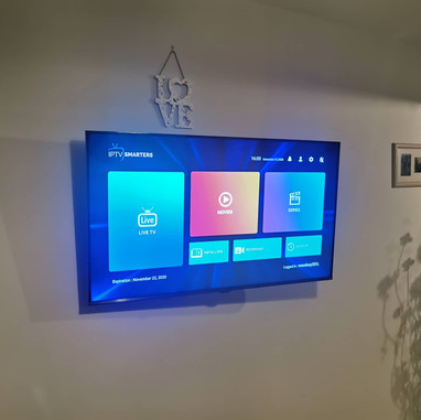 Tv mounted on the wall Dundalk Co Louth