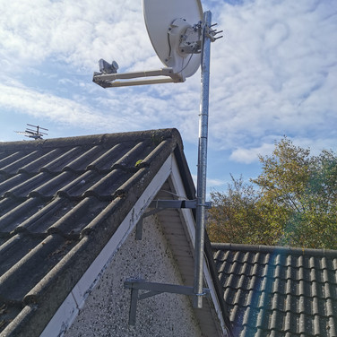 HIGH SPEED RURAL BROADBAND INSTALLATION WE HAVE DONE FOR A CLIENT FROM SOUTH COUNTY DUBLIN