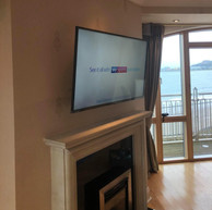 Tv wall mounting in Howth North County Dublin