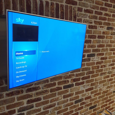 Tv wall mounting and Sky tv installation in Kilbride