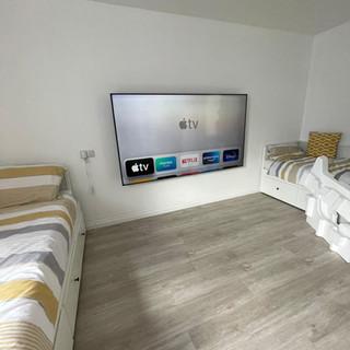 Large tv installation