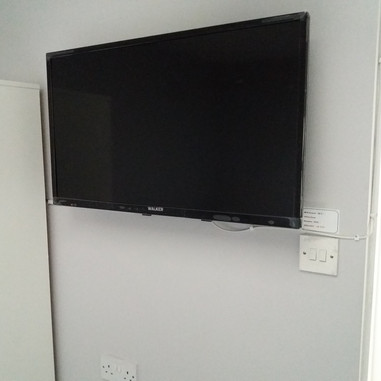 Commercial tv Wall Mounting in Guesthouse Drumcondra Dublin 9