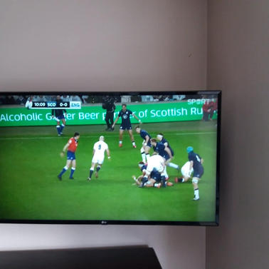 Tv mounted on the wall Alderbrook Ashbourne Co Meath