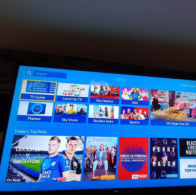 """80"""" Sony Tv mounted on the wall for a client from Ashbourne Co Meath"""