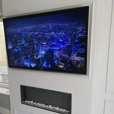 Tv wall mounting in Millers Glen in Swords North County Dublin