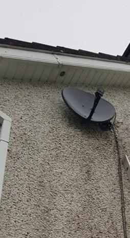 Satellite dish installation in Cloughduv Co Cork