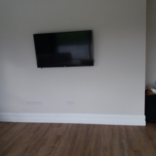 "We have supplied and installed Walker 32"" and 43"" satellite/smart/Saorview televisions for a commercial apartments in The Ward North County Dublin — at The Ward North County Dublin."