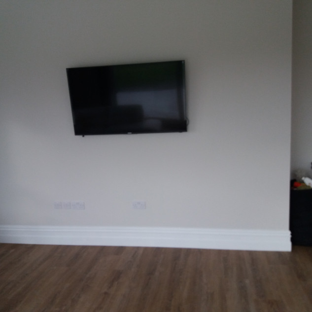 """We have supplied and installed Walker 32"""" and 43"""" satellite/smart/Saorview televisions for a commercial apartments in The Ward North County Dublin — at The Ward North County Dublin."""