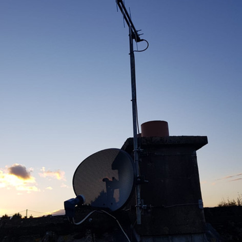 Saorview aerial installation in Carrigaline