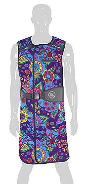 Infab Radiation Protection Apron B-203  Revolution  Full Wrap Black Belt  Vest & Skirt
