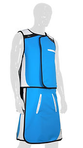 Infab Radiation Protection Apron 103 Revolution Vest & Skirt
