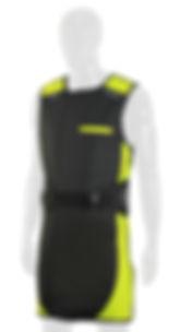 Infab Radiation Protection Apron 203 Revolution Full Wrap Black Belt Vest & Skirt