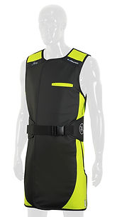 Infab Radiation Protection Apron 203 Revolution Full Wrap Black Belt Vest & Skirt